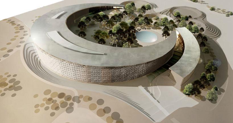 Conception architecturale d 39 un h tel 5 etoiles et d 39 un for Conception architecturale